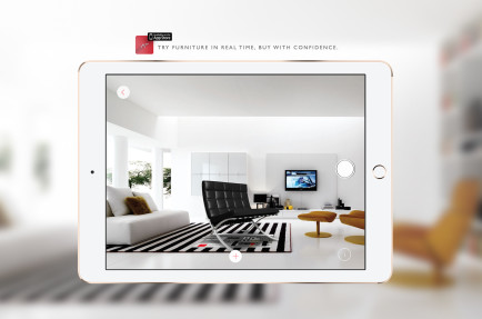 Augmented Forniture app