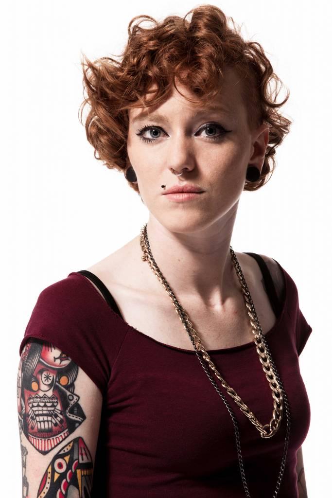 Eva Pevarello, la tatuatrice di Thiene