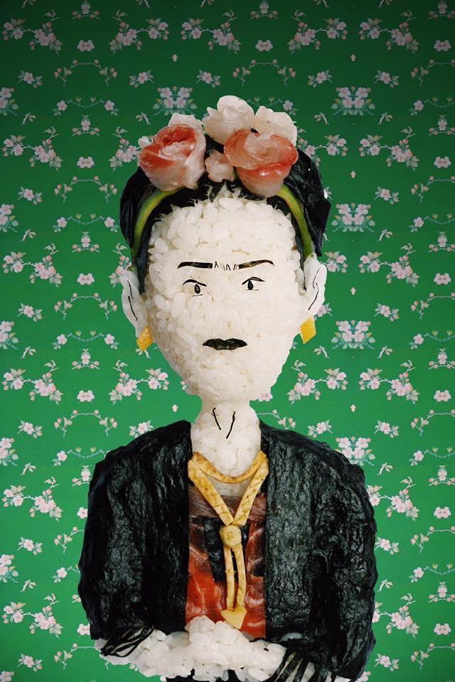 Yujia Hu onigri art