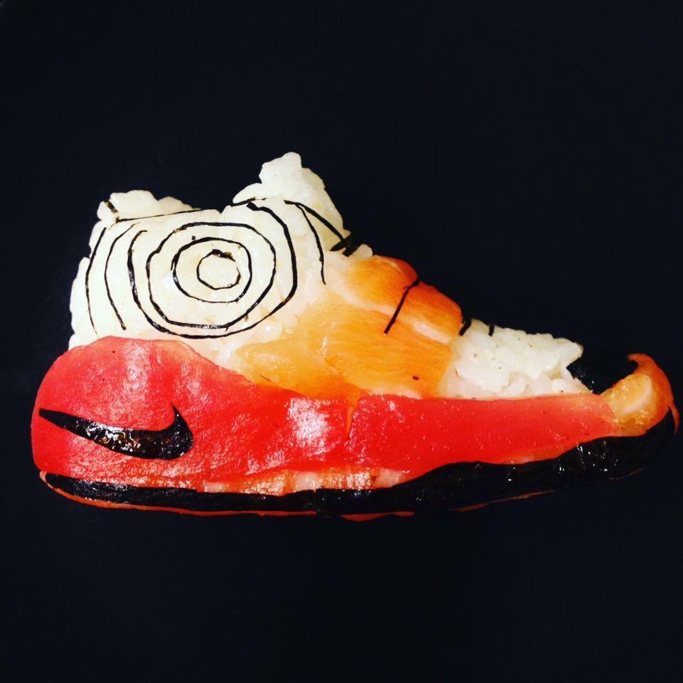 sneaker sushi Yujia Hu