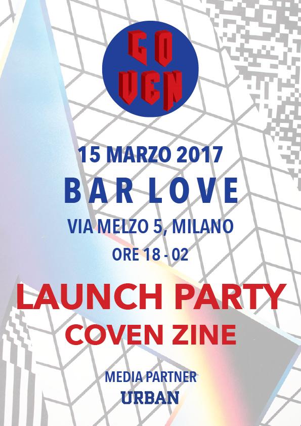 L'idea alla base della fanzine Coven - ideata dall'art director Stefano Filipponi - è quella di far parlare gli artisti attraverso il loro linguaggio.