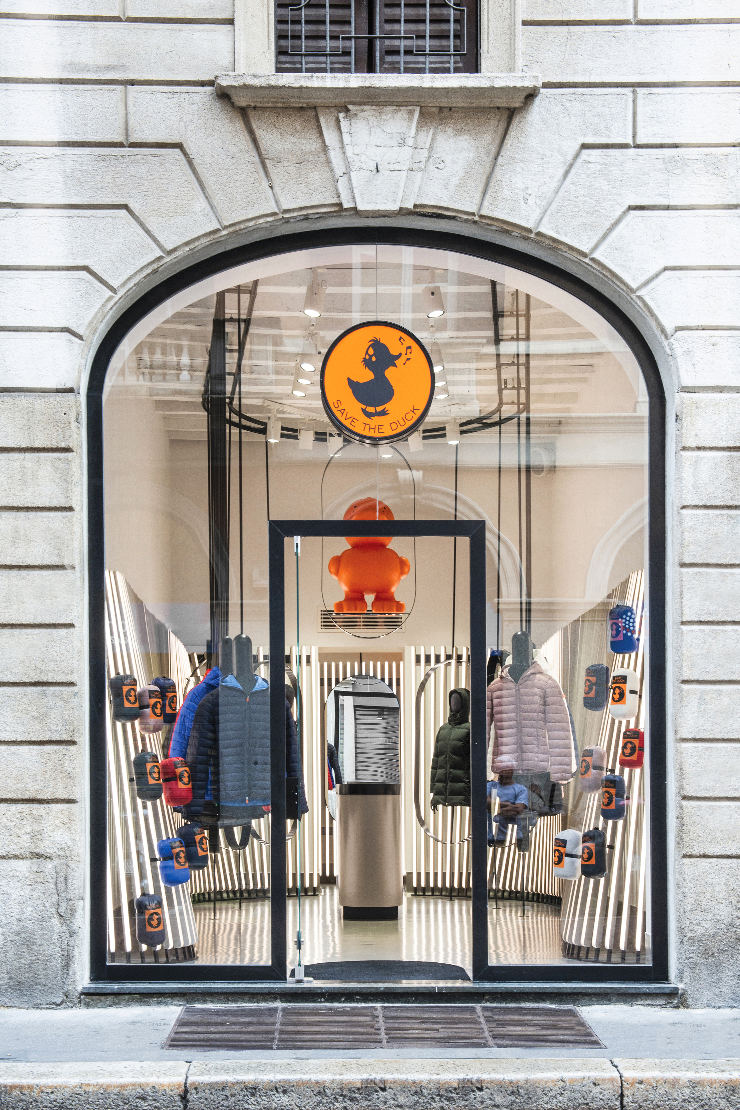 Save The Duck flagship store via Solferino, Milano