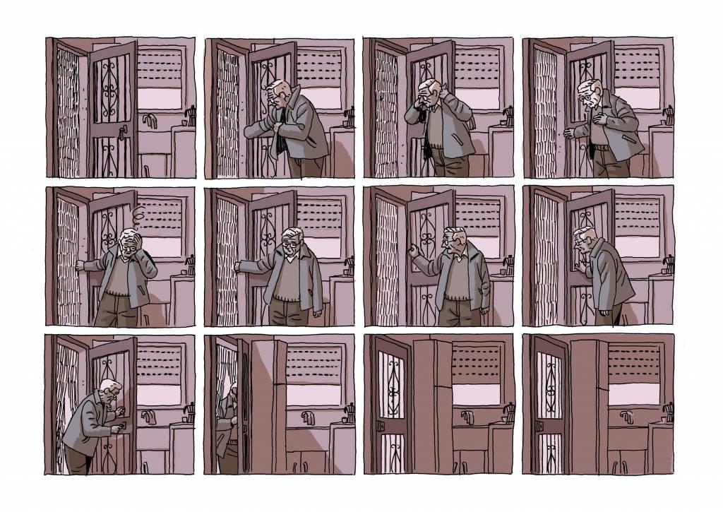 il fumetto la casa di paco roca