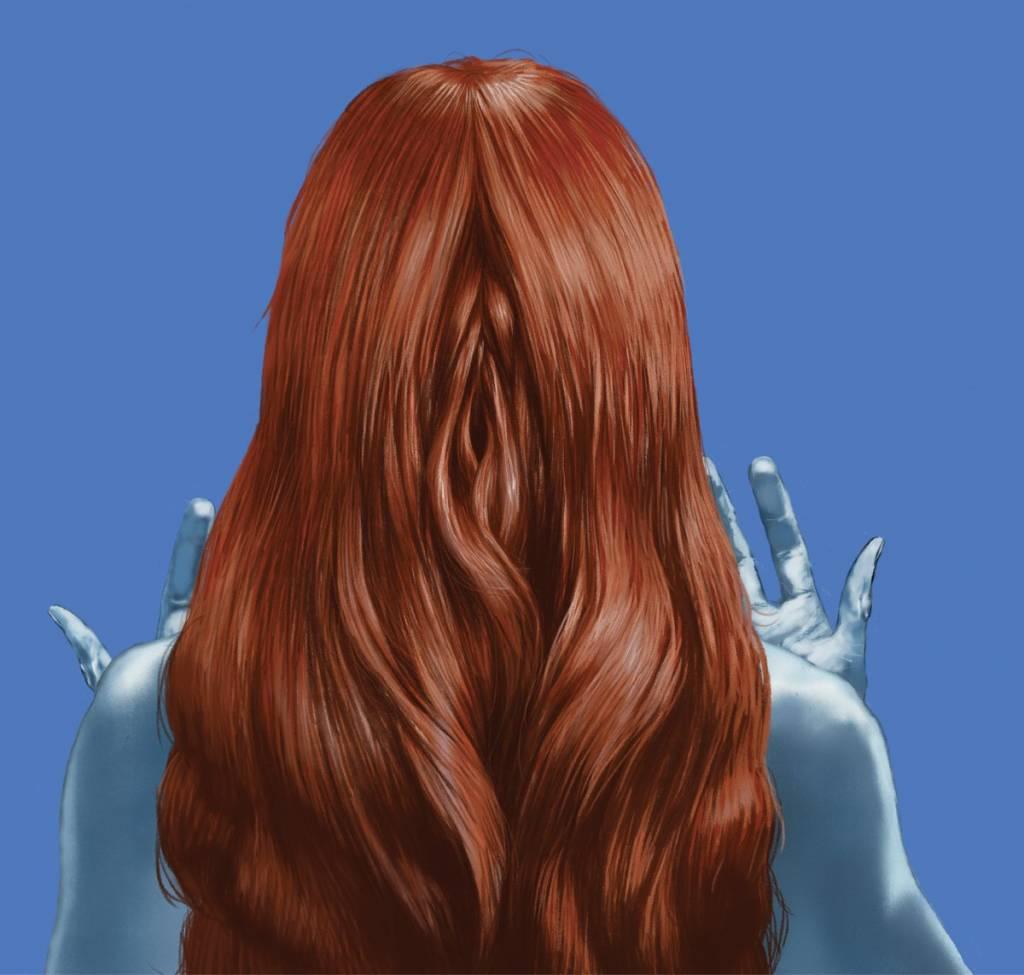 La copertina di Mystère, il nuovo album dei La Femme illustrata da Tanino Liberatore