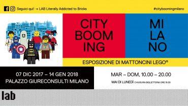 Lego esposizione Milano