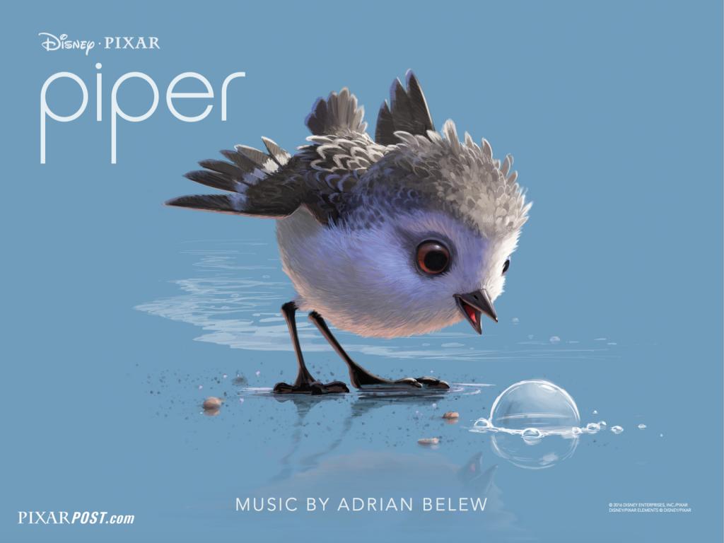 Piper, il corto della Pixar candidato all'Oscar