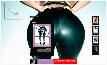 Tissue Magazine, la rivista tedesca di sesso e moda