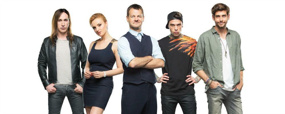 La giuria di X Factor e Alessandro Cattelan