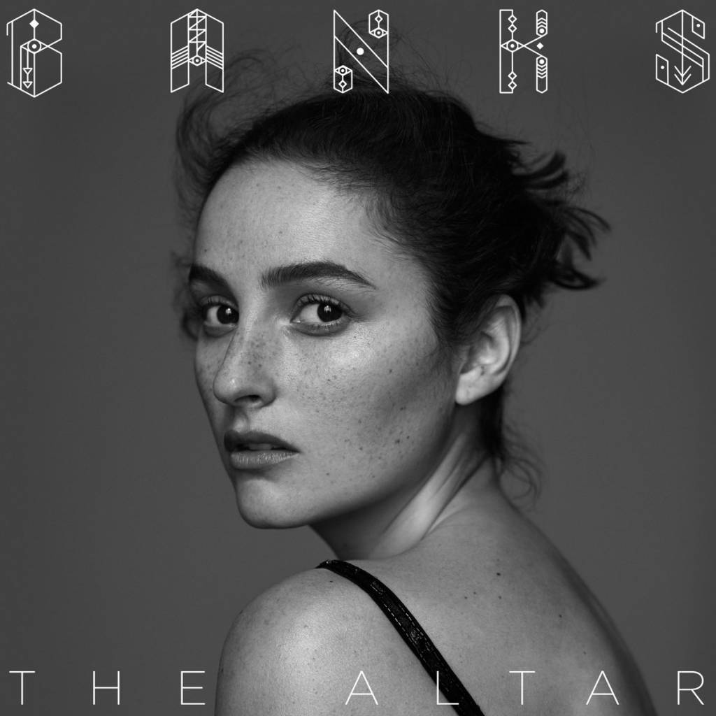 L'artwork di The Altar, il nuovo album della californiana Banks