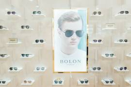 """""""Be real, be unique, that's my style, that's my Bolon eyewear"""""""