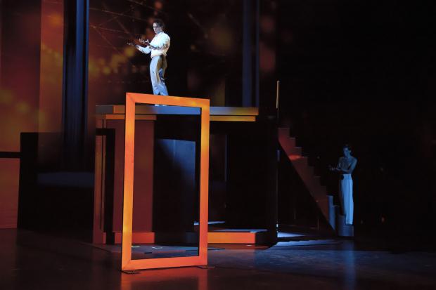 """il musical """"Dorian Gray. La bellezza non ha pietà"""", il capolavoro di Oscar Wilde firmato, appunto, Pierre Cardin."""