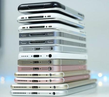 Tutti gli iPhone usciti a oggi