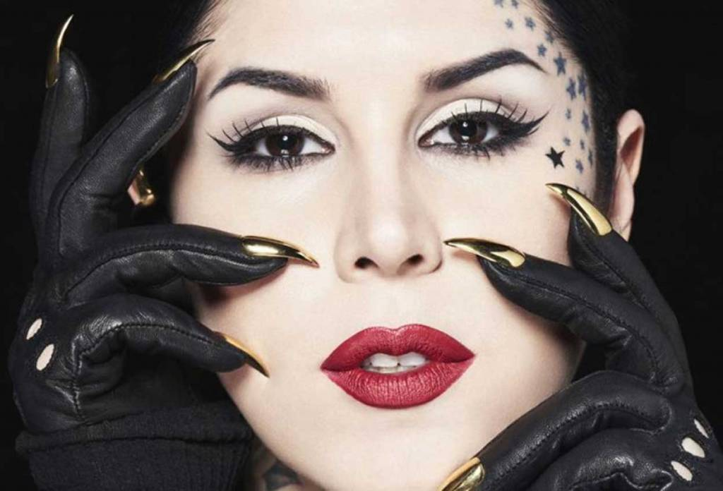 kat von d, da tatuatrice a make up artist per sephora