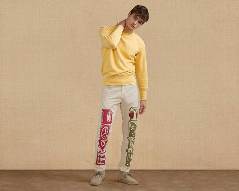 LEVI'S Crazy Legs collection fa rivivere la Summer of Love