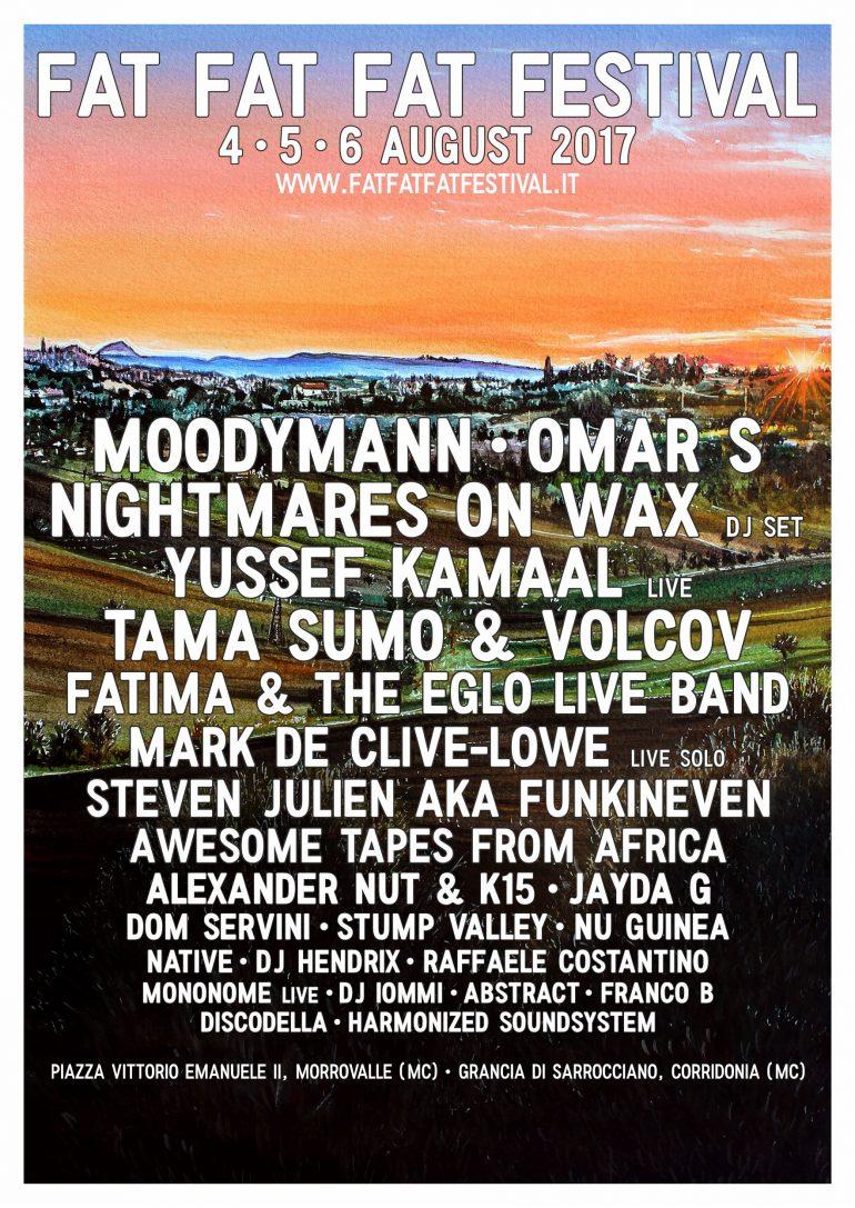fat fat fat festival 2017