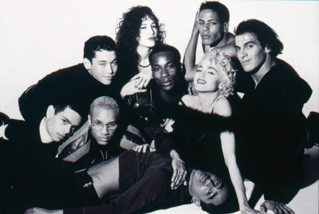 La crew del Blonde Ambition tour nel 1990