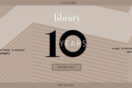 milano fashion library 10 years