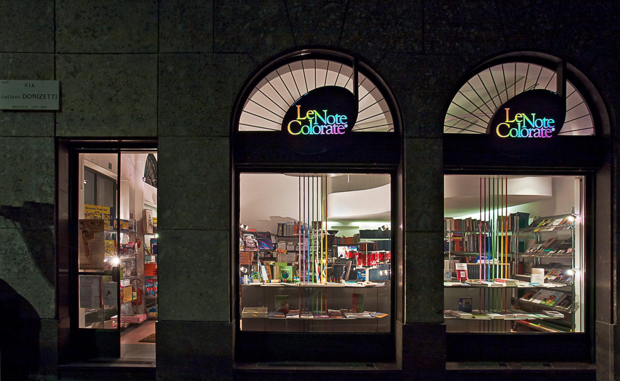 Le note colorate – La libreria della musica - Urban c233b8bc98b