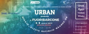 urban presenta fuoribarcone festival per la design week 2017