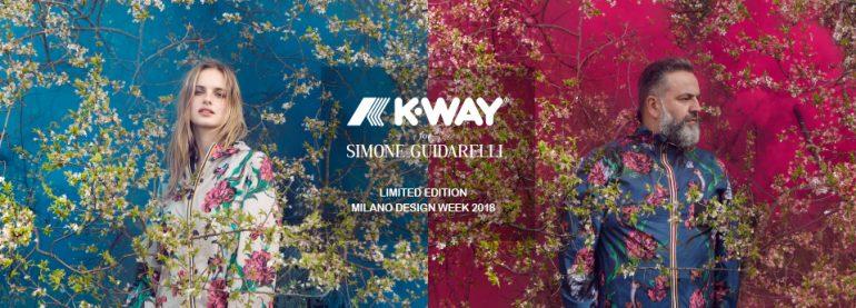 K Way® per Simone Guidarelli, la prima estrosa