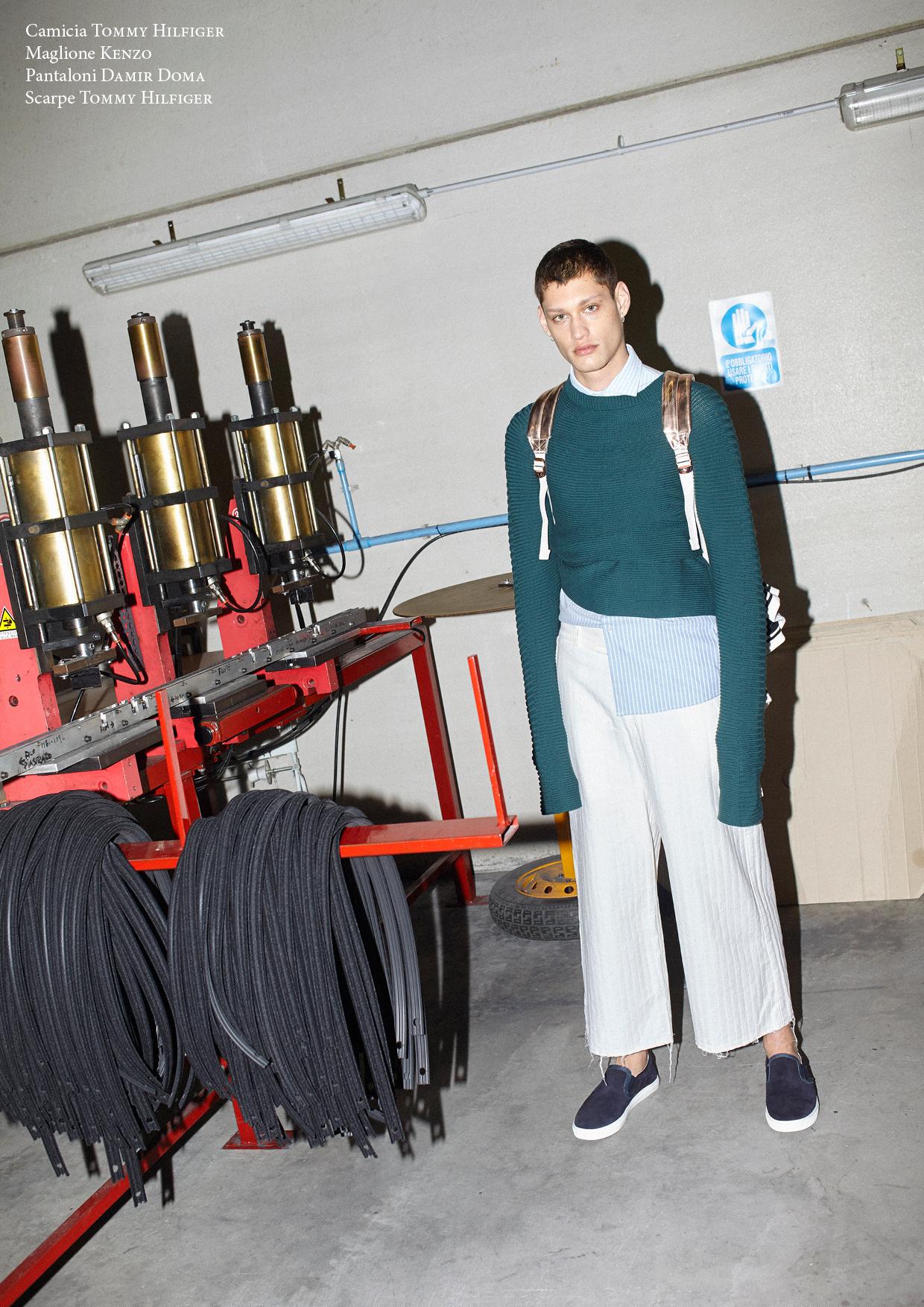 Freepower - a fashion story exclusive for Urban digital