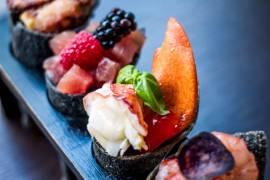 La cucina tradizionale italiana avvolta in quella giapponese
