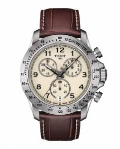Uno degli orologi presentati da Tissot per la collezione V8