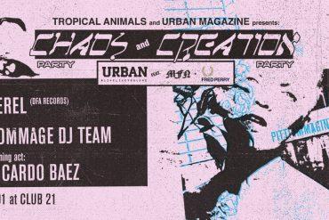 Urban Magazine - Tropical Animals Party Pitti