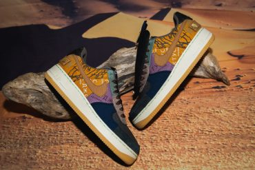 Nike Air Force 1 Bespoke Story of the Texas 8