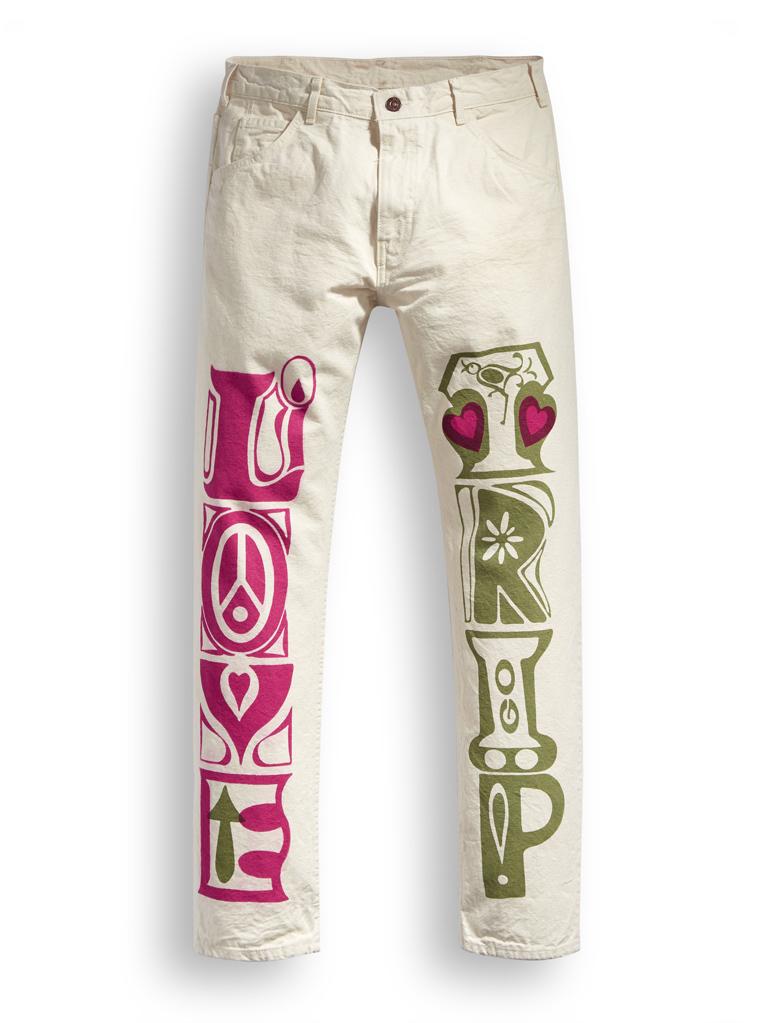 LEVI'S Crazy Legs collection fa rivivere la Summer of Love