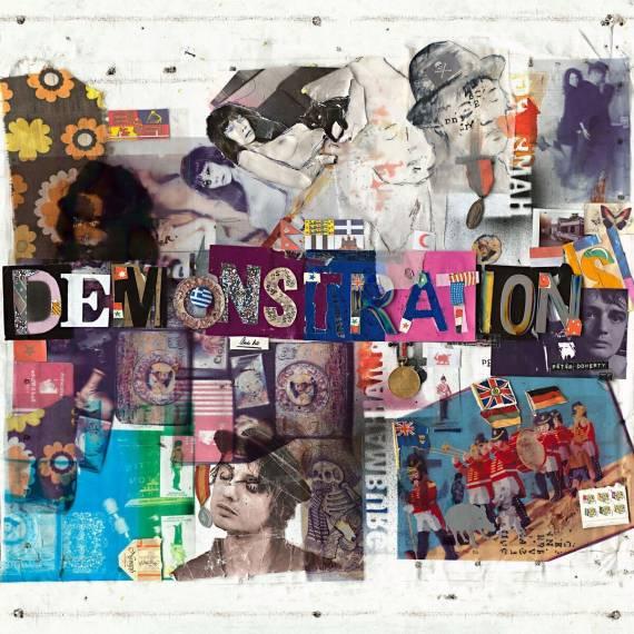 L'artwork di Hamburg Demonstration il nuovo album di Pete Doherty
