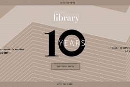 milano fashion library 10 years